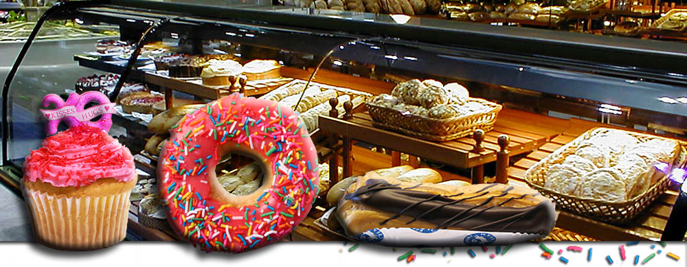 Lighting for Bakery Display Cases in Supermarkets